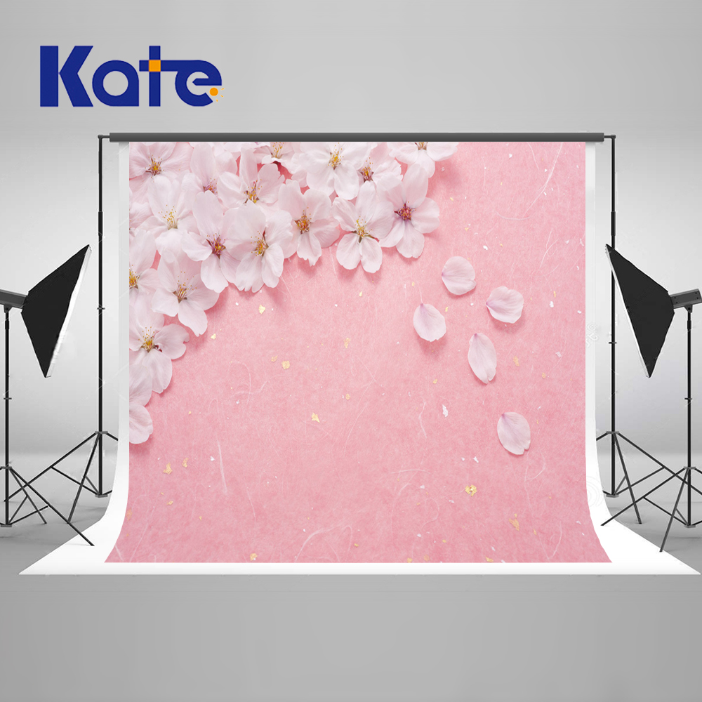ФОТО Kate Romantic Wedding Photography Backdrops Pink Flowers Backdrops Spring Photography Backdrops Large Size Seamless Photo