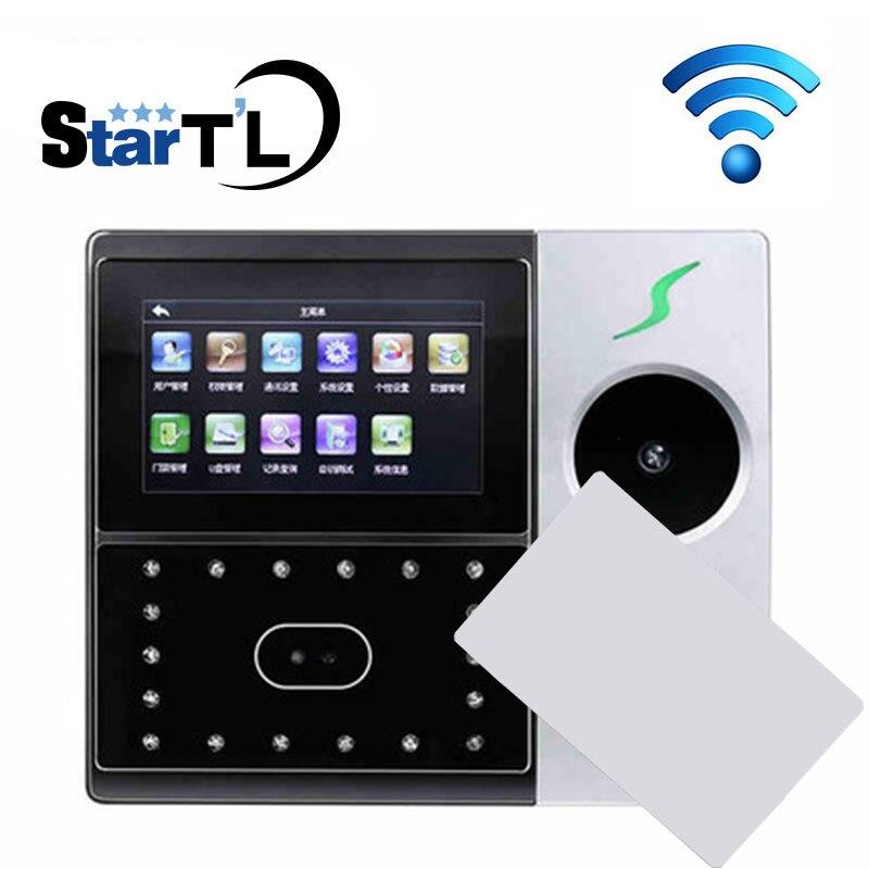 Iface702-P Wifi Palm Face Time Attendance Employee Hybird Biometric Fingerprint Time Clock MF 13.56Mhz Card Time Clock