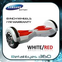 Smart Balance Wheel 8 Inch Hoverboard BLUETOOTH LED Electric Scooter