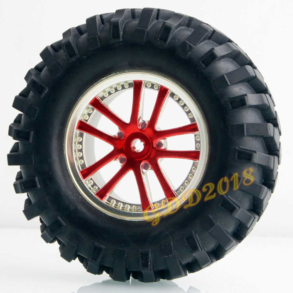 4pcs 1 9 inch 96MM simulation climbing tires Wheels D90 F350 SCX10 climbing tires universal 26S