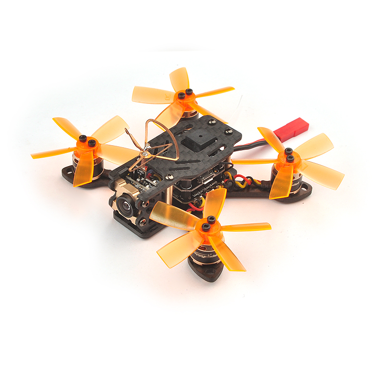 Toad 90 Micro FPV Racing Drone BNF Quadcopter Betaflight F3 Dshot Built-in OSD with Frsky/Flysky/DSM2/X RX Receiver F21372 matek f405 with osd betaflight stm32f405 flight control board osd for fpv racing drone quadcopter
