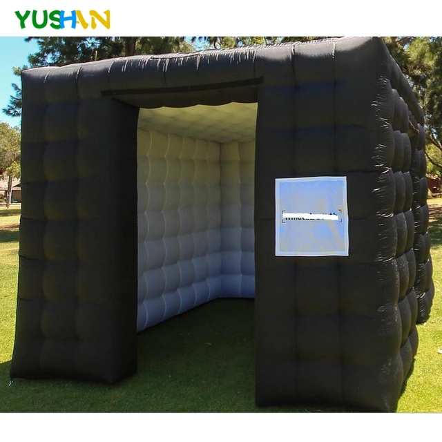 Large Size Inflatable Photo Booth Custom Portable Photo Booth  LED Color Changing Party Photo Booth Backdrops For Outside Inside