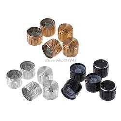 Novedad, 5 uds., 21x17mm, perilla de potenciómetro DE Control DE ALUMINIO giratorio, componente electrónico, triangulación de envíos