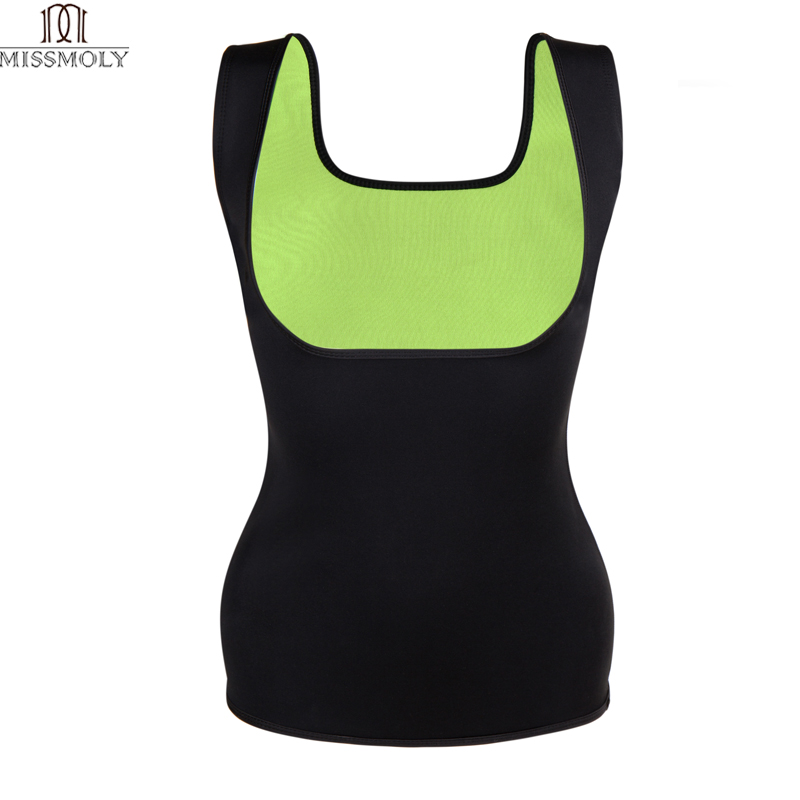 922f896b045 Miss Moly Body Shaper Sauna Sweat Neoprene Women Slimming Thermo Push Up  Vest Waist Trainer Cincher Corset Shapewear Tank Top
