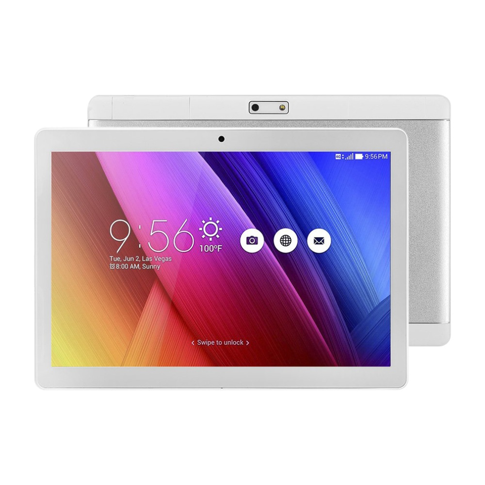 цены на New Slim 3G Phone Call Tablet 9.6 inch Android 6.0 800*1280 IPS HD 1GB RAM 16GB ROM Dual SIM 5MP Tablets PC 4000mAh WIFI GPS OTG в интернет-магазинах