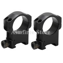Tactical Riflescope 30mm Rifle Scope Picatinny Weaver Mount Ring Bracket 20mm Base Heavy Duty High/Middle/Low Profile