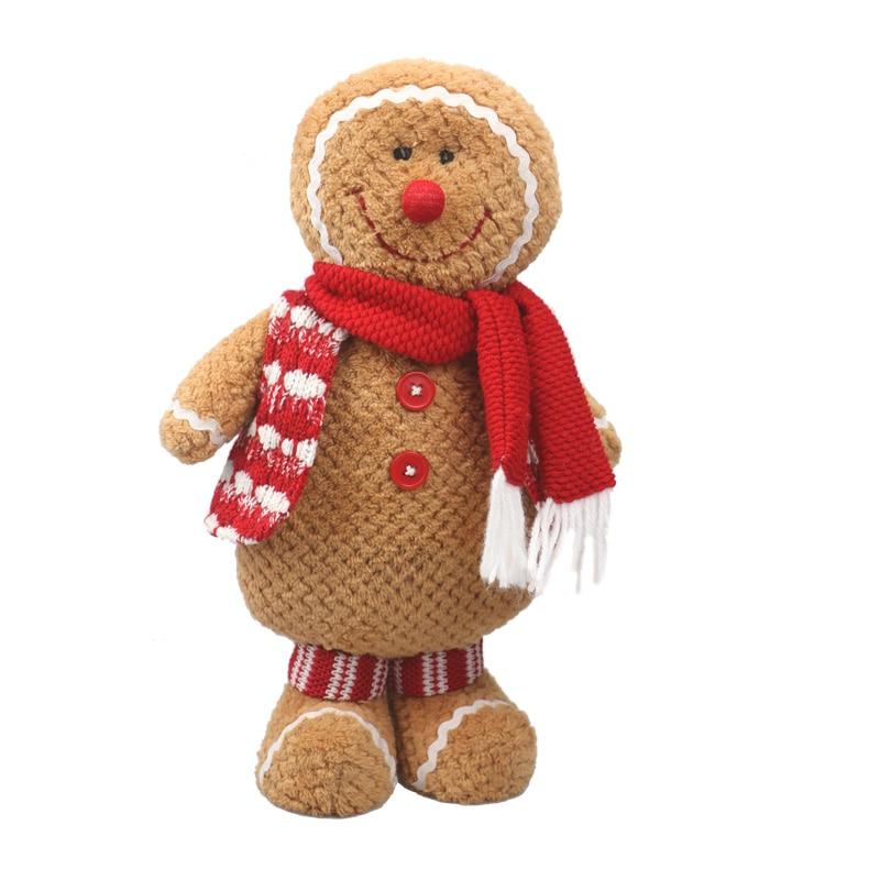Hombre de pan de jengibre regalo de Navidad de peluche muñeca suave - Peluches y felpa