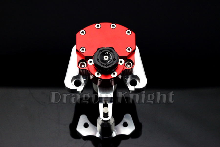 Motocycle Accessories For DUCATI MONSTER 696 2008-2014 Stabilizer steering damper Red motocycle accessories front