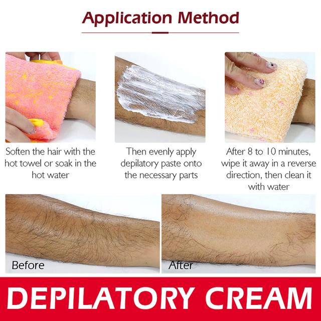 Depilatory Hair Removal Cream Painless