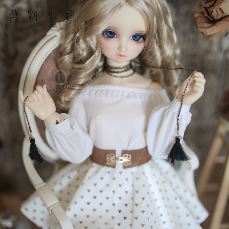 NEW Dew shoulder Tops Hollow out Loving Heart Skirt 1/3 SD10 BJD SD Doll Clothes handsome grey woolen coat belt for bjd 1 3 sd10 sd13 sd17 uncle ssdf sd luts dod dz as doll clothes cmb107