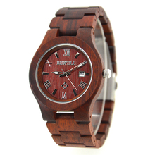 BEWELL Wooden Mens Watches Daily Life Water Resistant Top Brand Luxury Wood Watch with Retail Box Erkek Kol Saati 127A