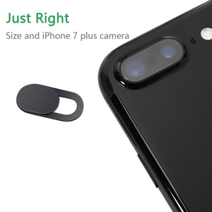 Image 3 - 3 Pack Black Aluminum Alloy Webcam Cover Camera Privacy Sticker for Phone Laptop Tablet T1