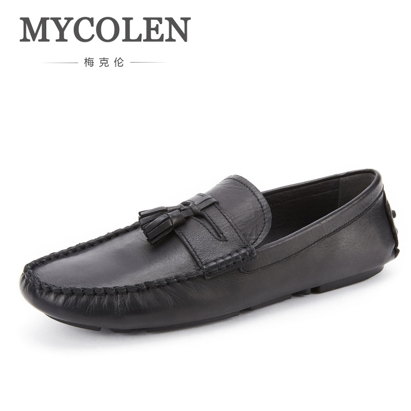 MYCOLEN Fashion Men Shoes Luxury Designer Men Casual Shoes Slip On Breathable Loafers Men Flats Shoe Loafer Shoes Men sinoextreme italian leather handmade crocodile embossed men loafer shoes leisure shoes slip on shoe luxury breathable men shoes