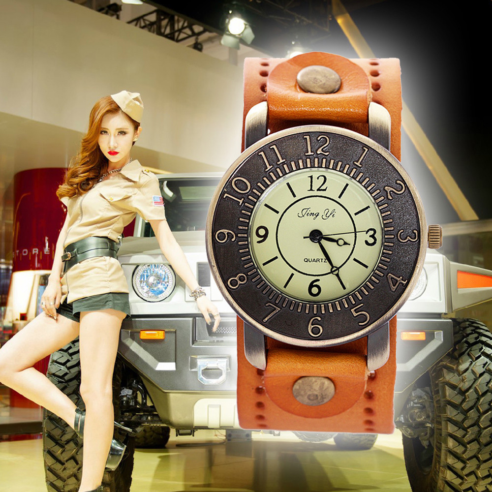 Women Watches Quartz Clock Hot Selling relogio feminino Roman Numerals Faux saat Leather watch women Quartz Analog Wristwatches brief faux leather roman numerals waterproof watch