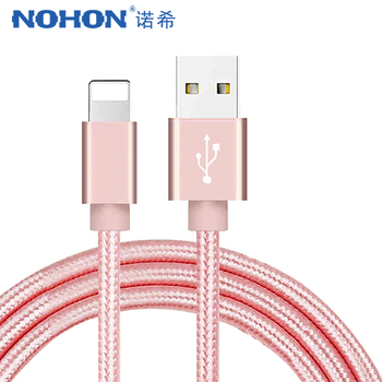 NOHON pour Apple USB câble de données de Charge pour iPhone X 7 6 8 6S 5S Plus XS MAX XR pour iPad Mini IOS 12 8 broches câbles de Charge rapide 1M
