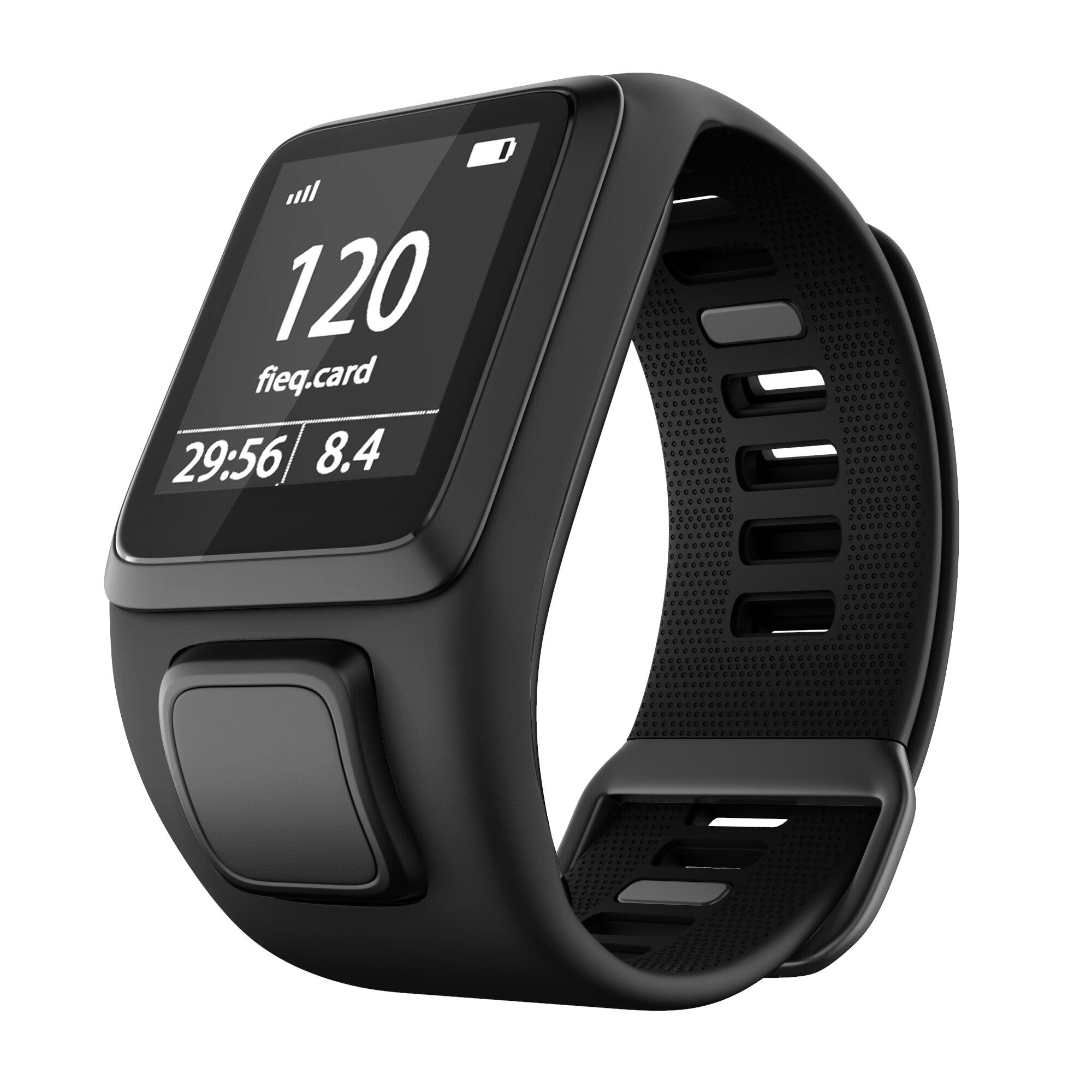 Bracelet de montre de remplacement en Silicone de qualité bracelet pour TomTom Runer 2/3/2 Cardio/Spark 3 montre de Sport pour TomTom 2 3 séries