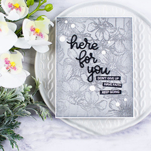 Word here for you  Metal Cutting Dies New 2019 Stencils DIY Scrapbooking Paper Cards Craft Making Fun Decoration