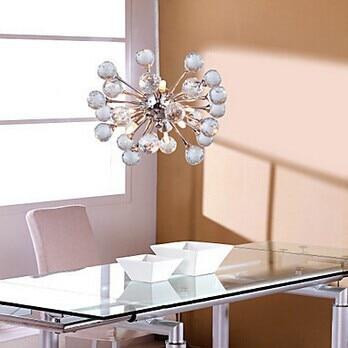6 Lights,G4,Luminaire Lighting LED Modern Crystal Pendant lights Lamp, Lustres e Pendentes,Lustre De Cristal,Bulb Included недорго, оригинальная цена