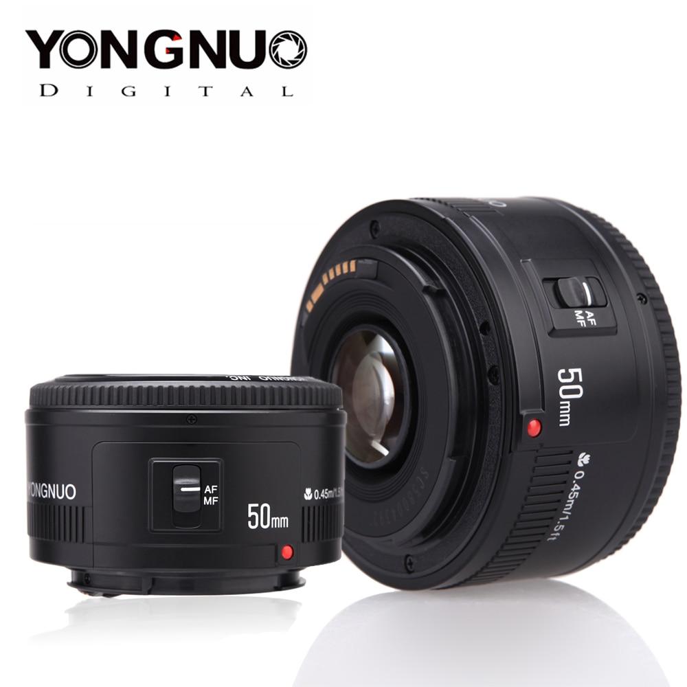 YONGNUO Lens YN50mm F1.8 YN EF 50mm F/1.8 AF Lens YN50 Aperture Auto Focus Lens For Canon EOS 60D 70D 5D2 5D3 600d DSLR Cameras