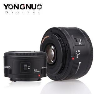 YONGNUO Lens YN50mm f1.8 YN EF 50mm f/1.8 AF Lens YN50 Aperture Auto Focus Lens for Canon