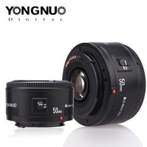 Image 1 - 永諾レンズYN50mm f1.8 yn ef 50 ミリメートルf/1.8 afレンズYN50 開口自動キヤノンeos 60D 70D 5D2 5D3 600dデジタル一眼レフカメラ