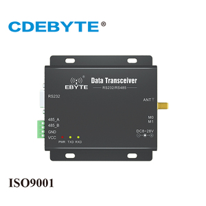 Image 1 - E90 DTU 433L37 LoRa long Range RS232 RS485 433mhz 5W IoT uhf CDEBYTE Wireless Transceiver Module Transmitter and Receiver