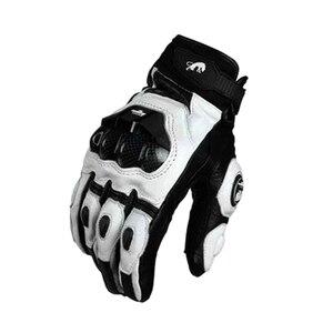 Image 5 - Real Genuine Leather Motorcycle Gloves GP PRO Riding Motobike Racing Cycling Luvas Moto Guantes Carbon Fiber Racing Cross bike