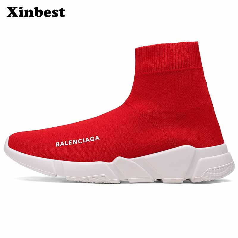 Xinbest Man Woman Brand Outdoor Athletic Comfortably Running Shoes Breathable Outdoor Jogging Fly line Fabric Allmatch Sneakers
