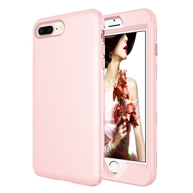apple iphone 8 plus case peach