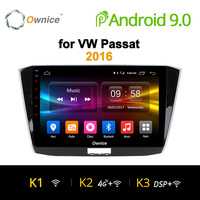 Ownice K1 K2 K3 Android 9.0 Octa Eight Core Car radio DVD Player gps For Volkswagen Passat 2013 2016 2G RAM Support 4G SIM DAB+