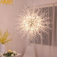 NANS Modern G4 LED chandelier acrylic lights lamp for dinning room living room lampadario moderno Lustre Chandelier Lighting