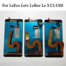 100% getestet Original 5,5 zoll NEUE Für LeEco Letv LeRee Le3 C1 U02 Globale Version LCD Display + Touch Screen Digitizer montage