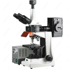 Discount! EPI Fluorescence Trinocular Microscope–AmScope Supplies 40X-1600X EPI Fluorescence Trinocular Microscope + 5MP Digital Camera