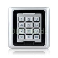 RFID Водонепроницаемый Контроллер Доступа Двери С Металлическими Блокировки Клавиатуры С WG26/WG34 Интерфейс Электрический Цифровой Замок Со СВЕТОДИОДНОЙ Light-K86