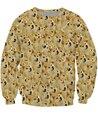 Дож V2 Crewneck Кофты Собака Сиба-Ину Животных Мода Одежда Топы Женщины Мужчины Перемычка Толстовки Случайные Толстовки