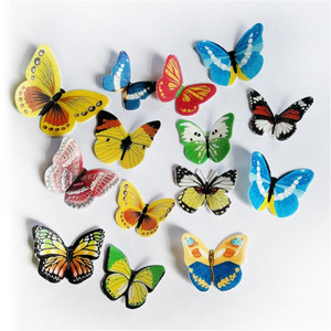 Image 4 - TTLIFE 42pcs/lot Butterfly Edible Glutinous Wafer Rice Paper Cupcake Toppers For Cake Decoration Birthday Wedding Cake Tools