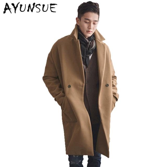 Aliexpress.com : Buy Camel Mens Coat Double Breasted Mens Coats ...