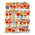 Cheap China Toys 28Pcs/Set Cute Cartoon Action Figures Plastic Japanese Anime Crayon Shin-Chan Mini Dolls Models F063