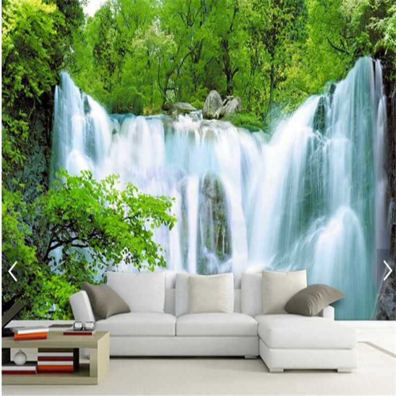 Custom photo wall mural wallpaper 3d luxury quality hd for Big wallpaper for wall