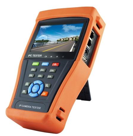 4.3 Touch Screen IP Camera Test Monitor PoE Test CCTV Tester WIFI PTZ Controller HDMI OSD Menu IPC4300