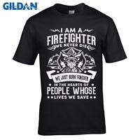 GILDAN 디자이너 t 셔츠 남성 최고의 판매 T 셔츠 소방