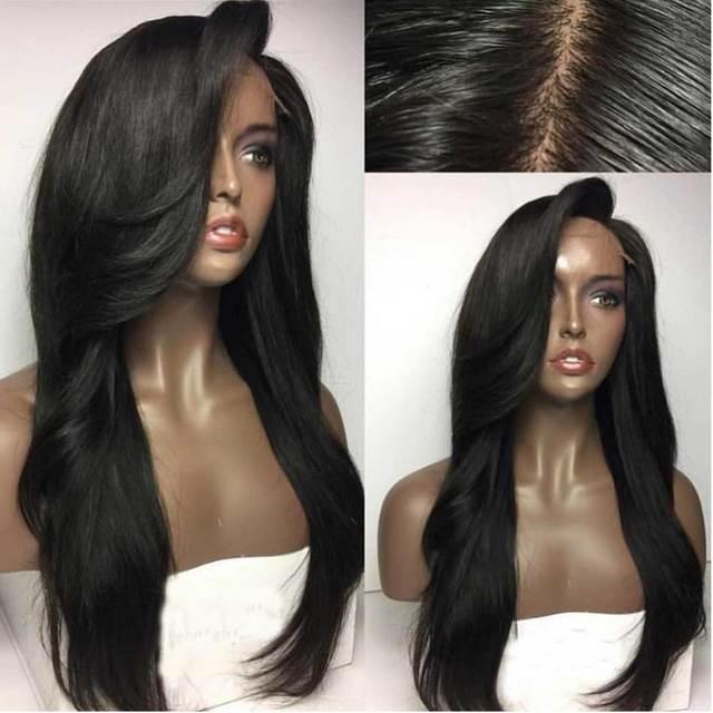 Isabel Onda de Água Do Cabelo Humano Peruca Cheia Do Laço Perucas de Cabelo Humano para As Mulheres Negras Glueless Parte Dianteira Do Laço Perucas de Cabelo Humano Com O Bebê cabelo