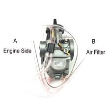 الأصلي 34 مللي متر 36 مللي متر 38 مللي متر 40 مللي متر 42 مللي متر Pwk المكربن Carburador العالمي 2T 4T محرك دراجة نارية سكوتر UTV ATV
