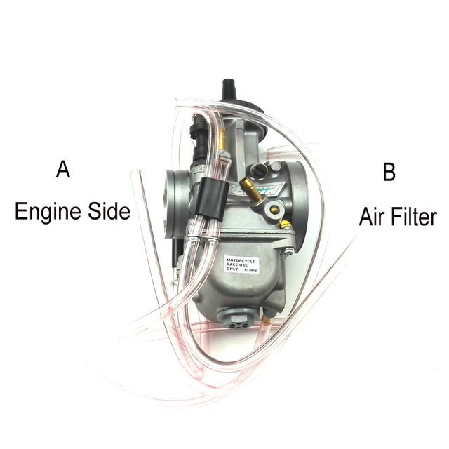 Carburador Pwk Original de 34mm, 36mm, 38mm, 40mm, 42mm, Universal, 2T, 4T, motor de motocicleta, Scooter, UTV, ATV
