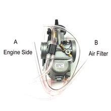 Карбюратор Pwk универсальный, карбюратор для мотоцикла, скутера, квадроцикла, колеса 34 мм, 36 мм, 38 мм, 40 мм, 42 мм