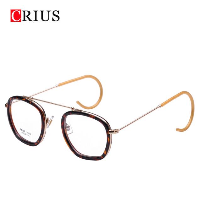 Marca crius novo das mulheres óculos moldura para mulheres óculos ópticos óculos de armação óculos vintage oculos de sol feminino óculos