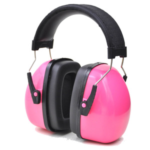 Image 2 - חדש צבע ראש אטמי אוזניים נגד רעש אוזן מגן לילדים/מבוגרים מחקר עבודת שמיעה הגנה עם מתכווננת סרט