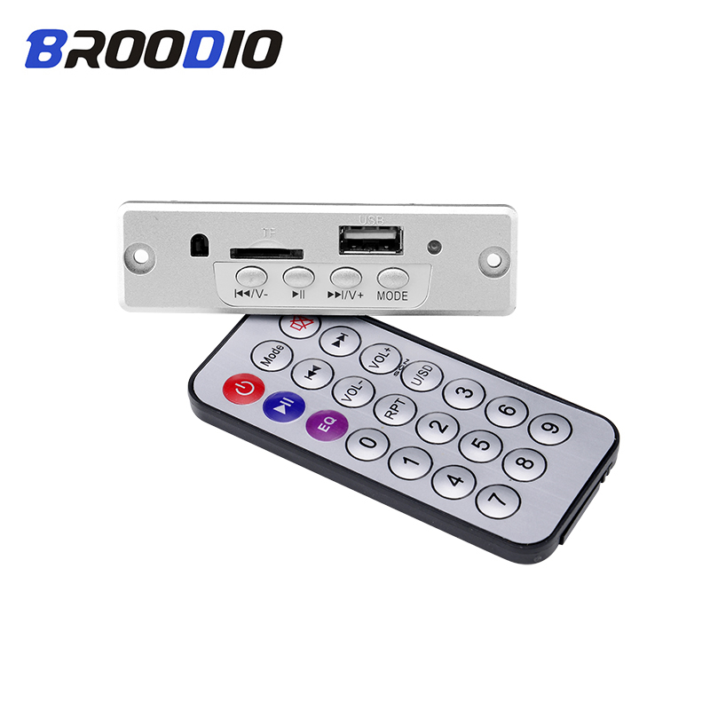 MP3 Player Lossless Decoder Board 5V 3W Amplifier Stereo MP3 WAV Decoding USB TF FM Radio Module With Remote Control For Speaker