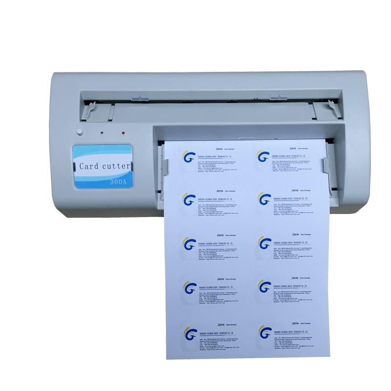 Business name card cutter machine Business cutting machine manual paper processing card cutter business card cutter customized cutting size round corner