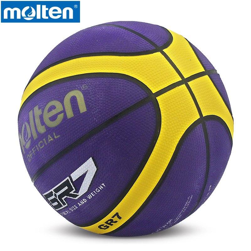 Original Molten Basketball Ball GR7 NEW Brand High Quality Genuine Molten Rubber Material Official Size 7 Basketball